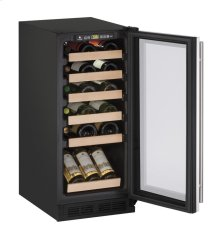 "1000 Series 15"" Wine Captain® Model With Stainless Frame Finish and Field Reversible Door Swing (115 Volts / 60 Hz)"