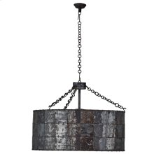 Urban 6 Light Round Chandelier