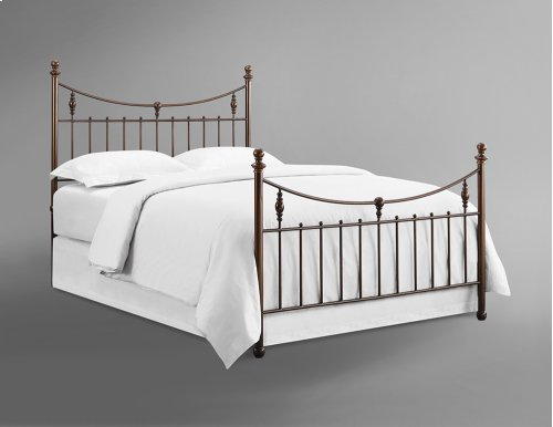 Penny Antique Copper Headboards - King