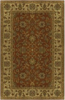RUG,TRADITIONAL,8'X11' 100% WOOL,