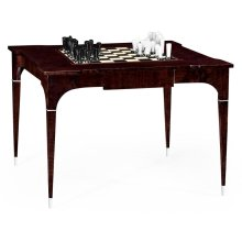 Black Eucalyptus Backgammon and Chess Table