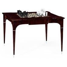 Black Eucalyptus Backgammon and Chess Table