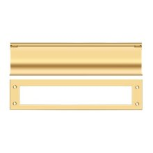 Mail Slot, HD - PVD Polished Brass
