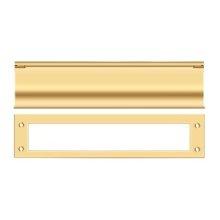 Mail Slot, HD - PVD Polished Brass