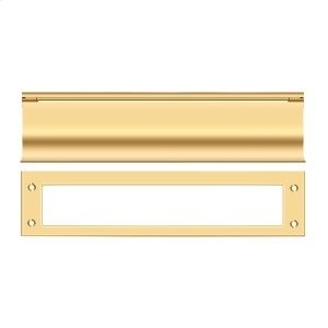 Mail Slot, HD - PVD Polished Brass Product Image