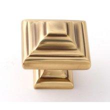 Geometric Knob A1525 - Polished Antique