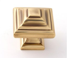 Geometric Knob A1525 - Polished Antique