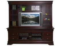 "Phillipe 84"" HDTV Cabinet with Hutch"