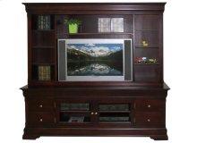 "Phillipe 84"" HDTV Cabinet with Hutch"