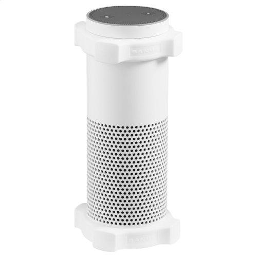 White Amazon Echo Bumper Accessory