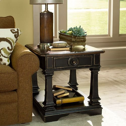 Dorset Rectangular End Table W/ Drawer