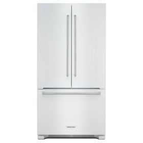 KitchenAid® 22 cu. ft. 36-Inch Width Counter Depth French Door Refrigerator with Interior Dispense - White