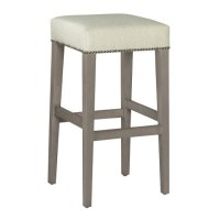 Jaxon Bar Stool with Nailheads Product Image