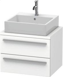 X-large Vanity Unit For Console Compact, White Matt