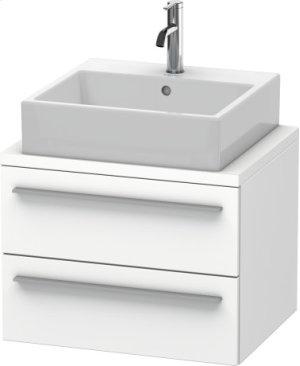 X-large Vanity Unit For Console Compact, White Matt