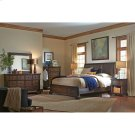 Bonded Leather King/Cal King Sleigh Headboard Product Image