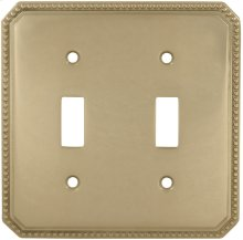 Double Beaded Switchplate