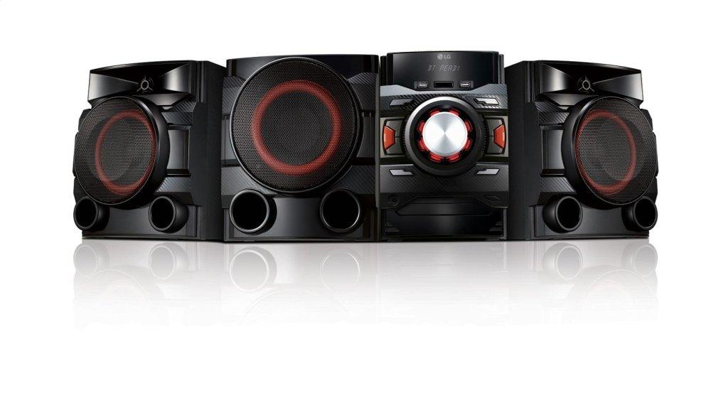 LG XBOOM 700W 2.1ch Mini Shelf System with Built-in Subwoofer and Bluetooth(R)