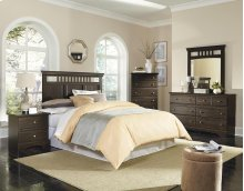 4 Piece Bedroom - Queen Headboard, Dresser, Mirror, Chest