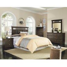 4 Piece Bedroom - Queen Headboard, Dresser, Mirror, Chest