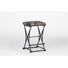 "Shields 26"" Counter Stool - Black Hide"