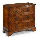 Walnut Parquet Chest of Three Drawers Product Image
