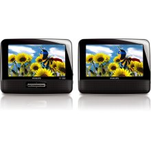 "7"" LCD Dual screens Portable DVD Player"
