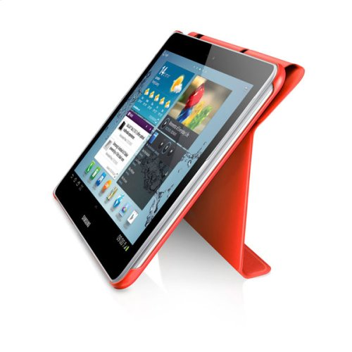 Galaxy Tab 2 10.1 Magnetic Book Cover, Orange