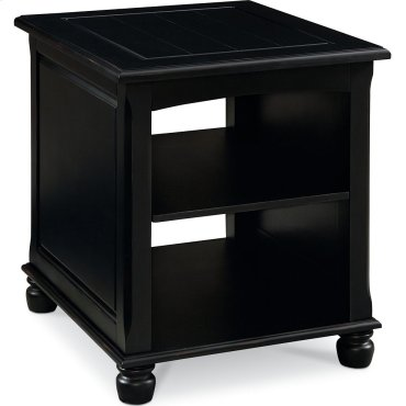 Ellie End Table (Black)