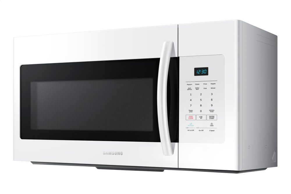 Me16h702sew Samsung 1 6 Cu Ft Over The Range Microwave In