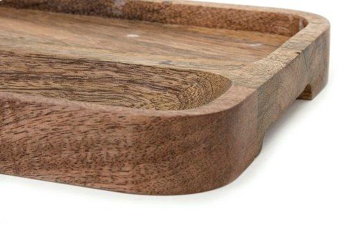 Kevia Wood and Marble Cheese Tray