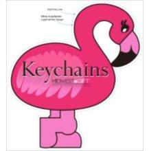 Flamingo Keychains Sign