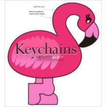 Flamingo Keychains Sign