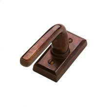 Rectangular Tilt & Turn Window Escutcheon - EW105 Silicon Bronze Brushed