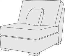 Lockett Armless Chair in Mocha (751)