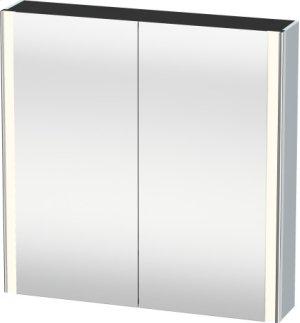 Mirror Cabinet, Light Blue Satin Matt Lacquer