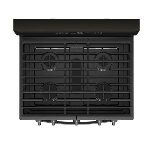 5.8 cu. ft. Smart Freestanding Gas Range with EZ-2-Lift Grates