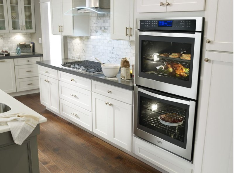 10 0 cu  ft  Double Wall Oven with Digital Controls