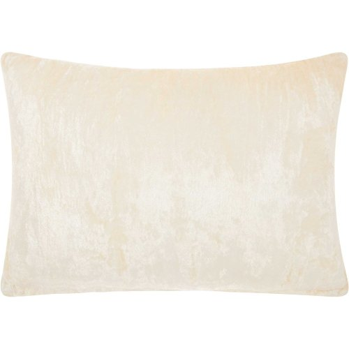 "Life Styles Cs018 Ivory 14"" X 20"" Throw Pillows"