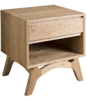 """Mitre 20"""" Low Profile Nightstand"""