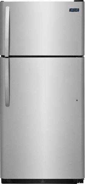 Crosley Top Mount Refrigerator : Top Mount Refrigerator - Stainless