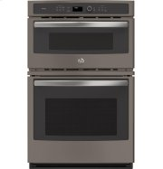"GE Profile™ Series 27"" Built-In Combination Convection Microwave/Convection Wall Oven Product Image"