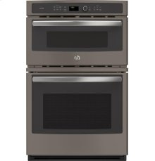 """GE Profile Series 27"""" Built-In Combination Convection Microwave/Convection Wall Oven"""