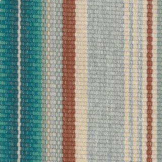 Pendleton Stripe Aqua Fabric