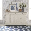 4 Door Accent Cabinet - White Product Image
