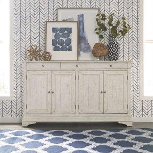 Liberty Furniture Industries4 Door Accent Cabinet - White