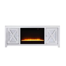 This mirror paneled tv stand fireplace combination is the perfect complement to your entertainment spaces. You can enjoy watching endless movies, host premier nights, or play video games until the stars are sparkling just as bright as the clear crystals that embellish the panels within the X-shaped details of the cabinet doors, which opens to […]