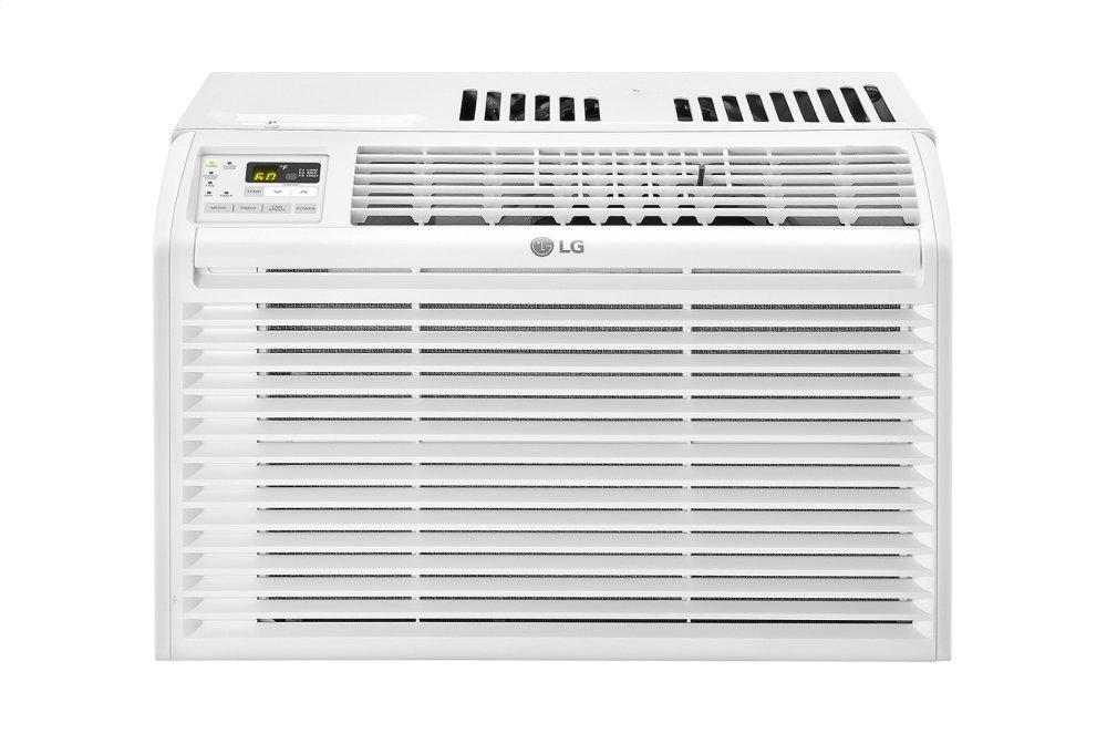 6,000 BTU Window Air Conditioner  WHITE