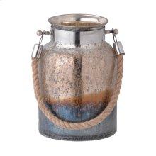 Dashelle Glass Jar W/Handle