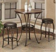 "Sunset Trading Victoria 42"" Round Pub Table Set Product Image"